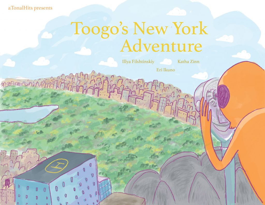 Toogo in New York book cover